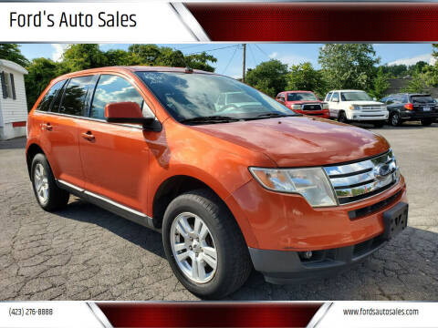 2008 Ford Edge for sale at Ford's Auto Sales in Kingsport TN