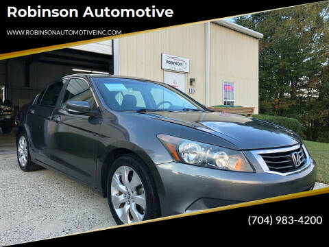 2010 Honda Accord for sale at Robinson Automotive in Albermarle NC