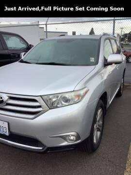 2012 Toyota Highlander for sale at Royal Moore Custom Finance in Hillsboro OR