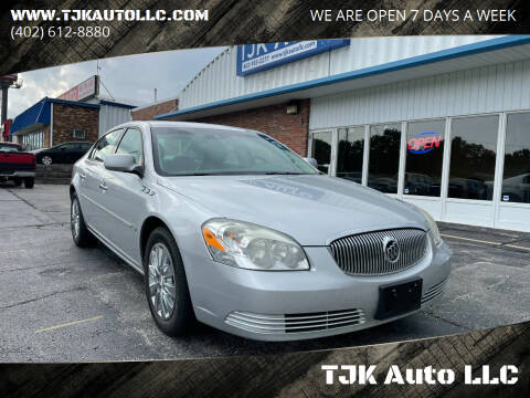 2009 Buick Lucerne for sale at TJK Auto LLC in Omaha NE