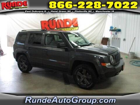 2017 Jeep Patriot for sale at Runde Chevrolet in East Dubuque IL