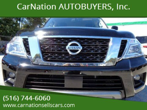 2019 Nissan Armada for sale at CarNation AUTOBUYERS, Inc. in Rockville Centre NY