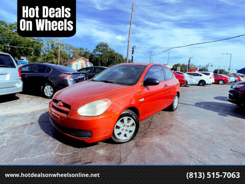 2008 Hyundai Accent for sale at Hot Deals On Wheels in Tampa FL