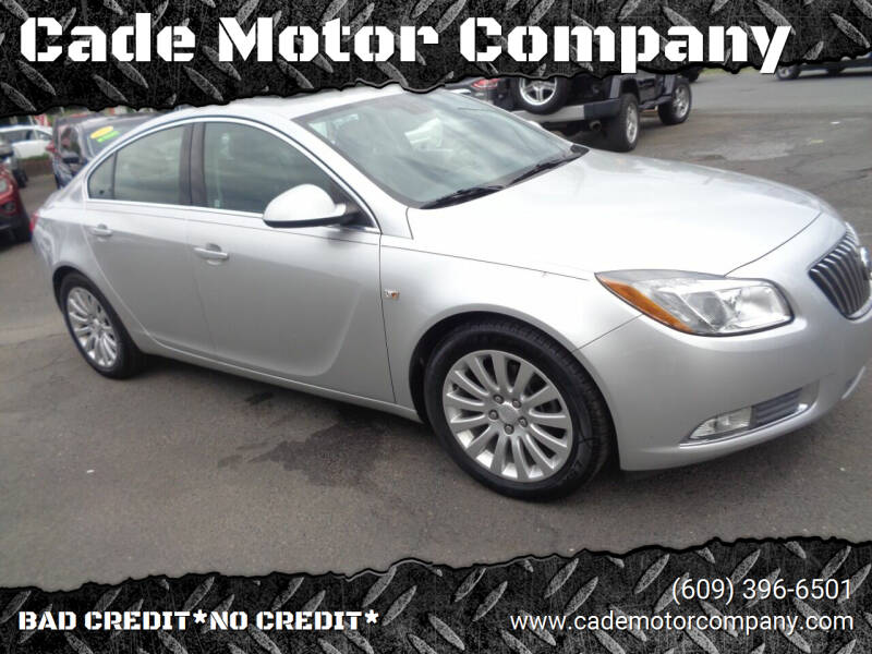 2011 Buick Regal for sale at Cade Motor Company in Lawrence Township NJ
