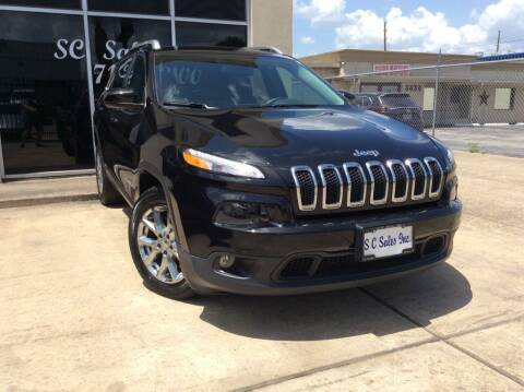 2015 Jeep Cherokee for sale at SC SALES INC in Houston TX