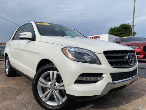 2014 Mercedes-Benz M-Class for sale at Cars of Tampa in Tampa FL