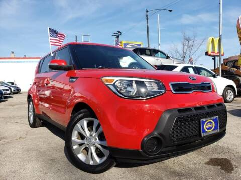 2015 Kia Soul for sale at AutoBank in Chicago IL