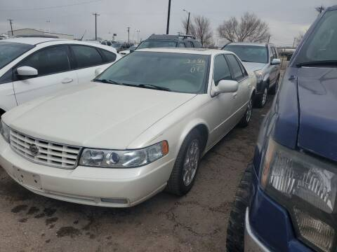 2002 Cadillac Seville for sale at PYRAMID MOTORS - Fountain Lot in Fountain CO