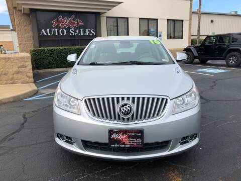 2010 Buick LaCrosse for sale at Mike's Auto Sales INC in Chesapeake VA