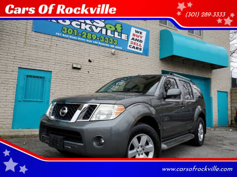 2008 Nissan Pathfinder for sale at Cars Of Rockville in Rockville MD