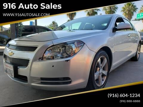 2012 Chevrolet Malibu for sale at 916 Auto Sales in Sacramento CA
