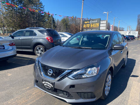 2019 Nissan Sentra for sale at Affordable Auto Sales in Webster WI