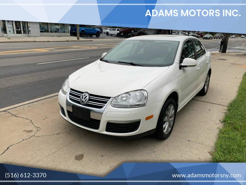 2010 Volkswagen Jetta for sale at Adams Motors INC. in Inwood NY