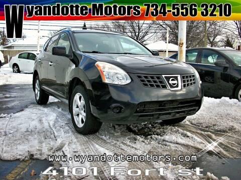 2010 Nissan Rogue for sale at Wyandotte Motors in Wyandotte MI