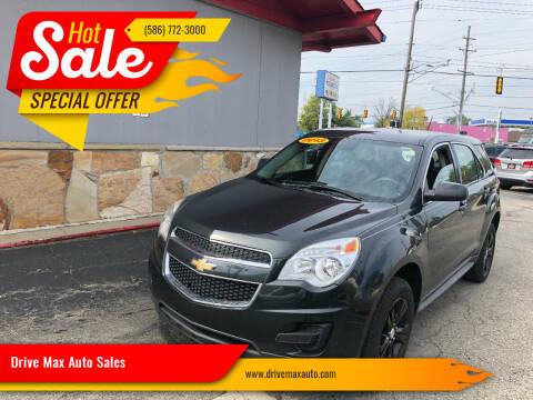 2013 Chevrolet Equinox for sale at Drive Max Auto Sales in Warren MI
