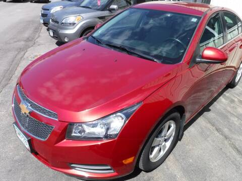 2012 Chevrolet Cruze for sale at J & K Auto - J and K in Saint Bonifacius MN