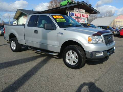 2004 Ford F-150 for sale at Low Auto Sales in Sedro Woolley WA