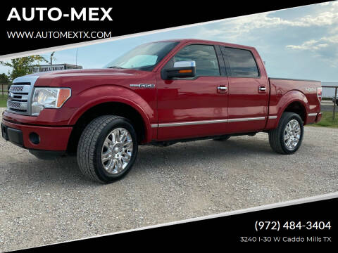 2011 Ford F-150 for sale at AUTO-MEX in Caddo Mills TX