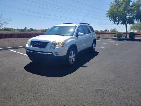 2009 GMC Acadia for sale at Sooner Automotive Sales & Service LLC in Peoria AZ