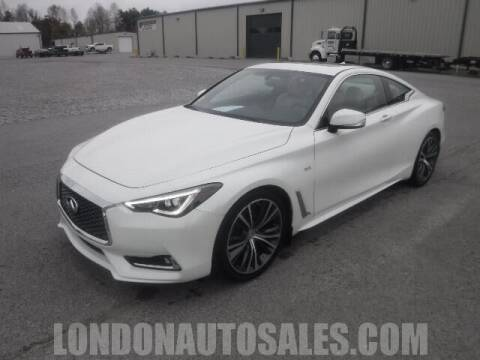 2018 Infiniti Q60 for sale at London Auto Sales LLC in London KY