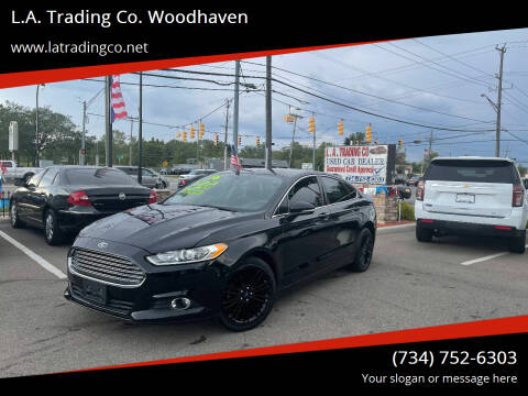 2016 Ford Fusion for sale at L.A. Trading Co. Woodhaven in Woodhaven MI