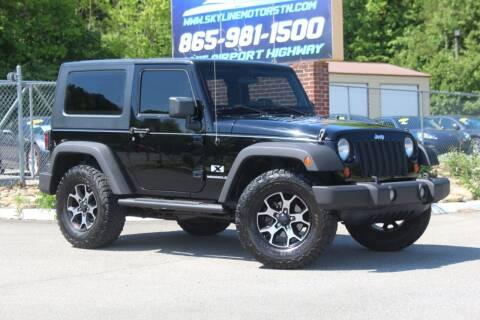 2008 Jeep Wrangler for sale at Skyline Motors in Louisville TN