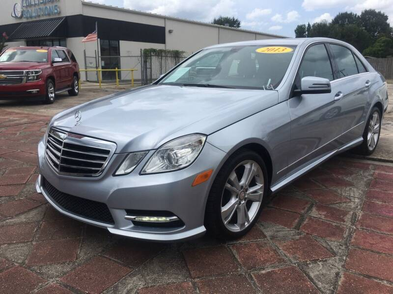 2013 Mercedes-Benz E-Class for sale at CAPITOL AUTO SALES LLC in Baton Rouge LA