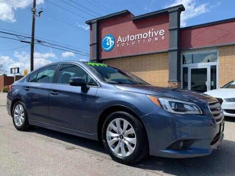 2015 Subaru Legacy for sale at Automotive Solutions in Louisville KY