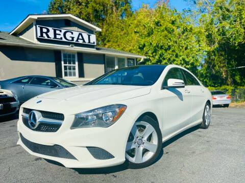 2015 Mercedes-Benz CLA for sale at Regal Auto Sales in Marietta GA
