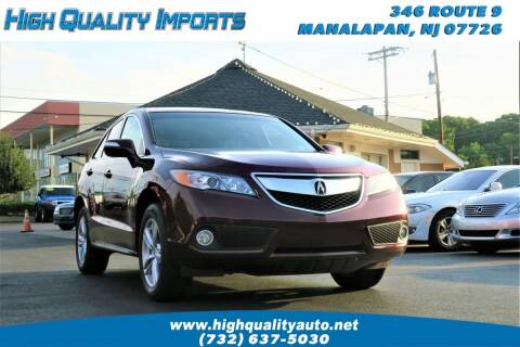 2013 Acura RDX for sale at High Quality Imports in Manalapan NJ