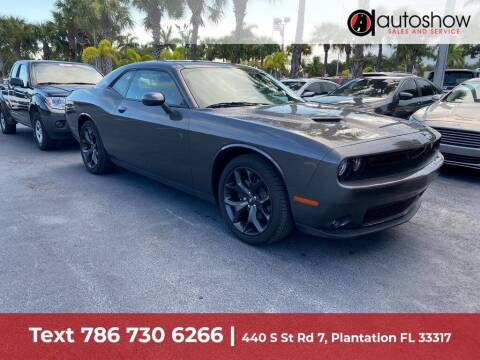 2020 Dodge Challenger for sale at AUTOSHOW SALES & SERVICE in Plantation FL