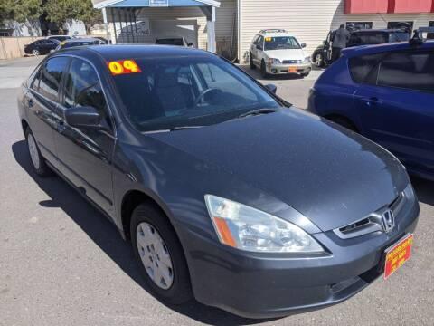 2004 Honda Accord for sale at Progressive Auto Sales in Twin Falls ID
