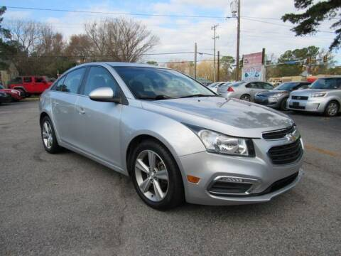 2015 Chevrolet Cruze for sale at Atlantic Auto Sales in Chesapeake VA