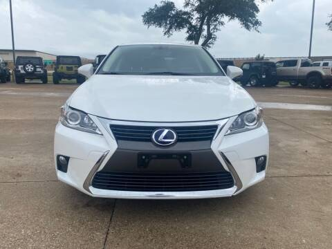 2017 Lexus CT 200h for sale at Thornhill Motor Company in Hudson Oaks, TX