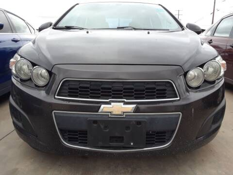 2014 Chevrolet Sonic for sale at Auto Haus Imports in Grand Prairie TX