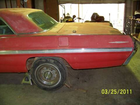 1962 Pontiac Bonneville for sale at Classic Car Deals in Cadillac MI
