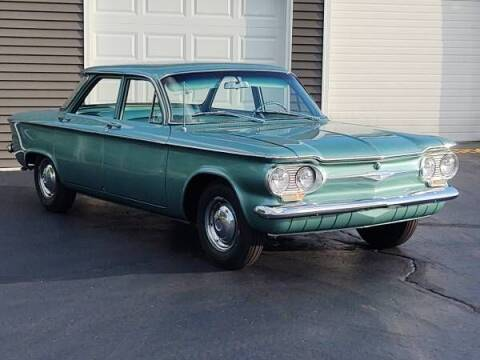 1961 Chevrolet Corvair for sale at Classic Car Deals in Cadillac MI