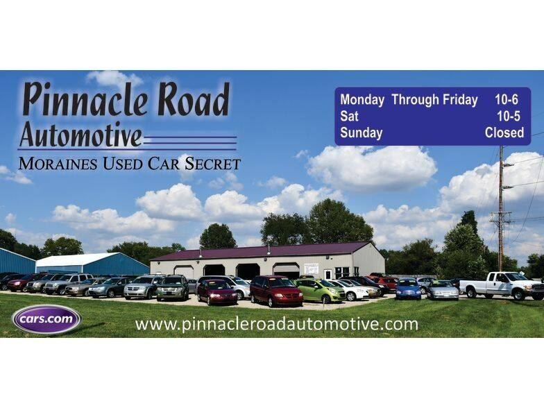 2009 Pontiac G6 for sale at PINNACLE ROAD AUTOMOTIVE LLC in Moraine OH