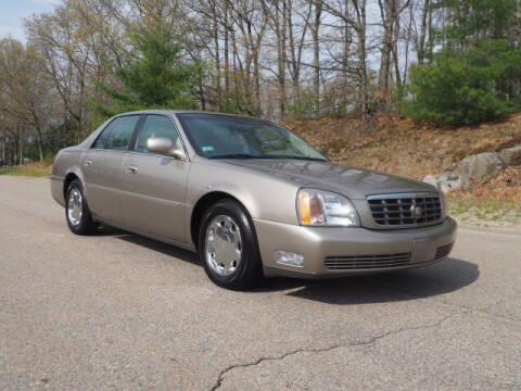 2000 Cadillac DeVille for sale at CLASSIC AUTO SALES in Holliston MA
