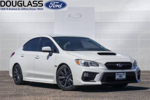 2018 Subaru WRX for sale at Douglass Automotive Group - Douglas Ford in Clifton TX