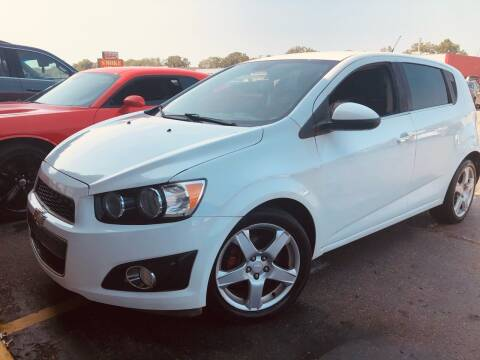 2013 Chevrolet Sonic for sale at Daniel Auto Sales inc in Clinton Township MI