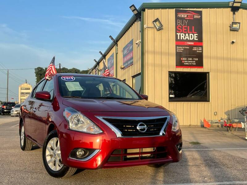 2019 Nissan Versa for sale in Humble, TX