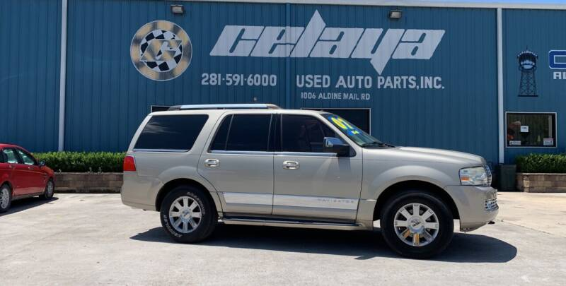 2007 Lincoln Navigator for sale at CELAYA AUTO SALES INC in Houston TX