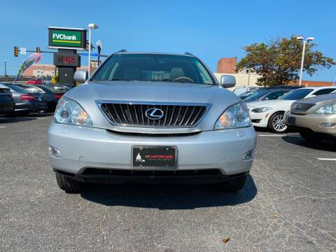 2009 Lexus RX 350 for sale at DC Motorcars in Springfield VA