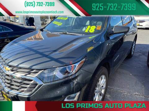 2018 Chevrolet Equinox for sale at Los Primos Auto Plaza in Antioch CA