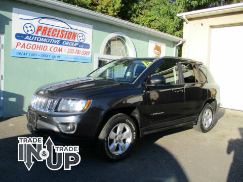 2014 Jeep Compass for sale at Precision Automotive Group in Youngstown OH