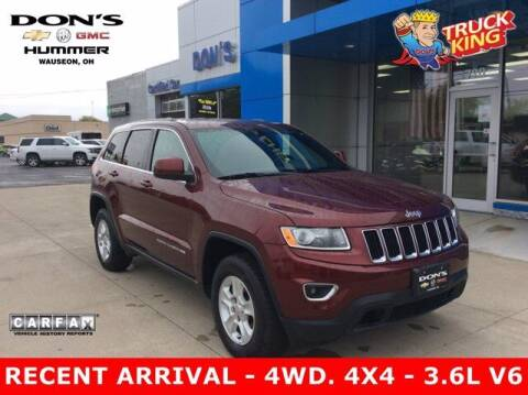 2016 Jeep Grand Cherokee for sale at DON'S CHEVY, BUICK-GMC & CADILLAC in Wauseon OH