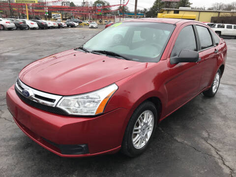2010 Ford Focus for sale at IMPALA MOTORS in Memphis TN