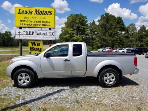 2012 Nissan Frontier for sale at Lewis Motors LLC in Deridder LA