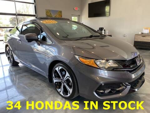 2015 Honda Civic for sale at Crossroads Car & Truck in Milford OH